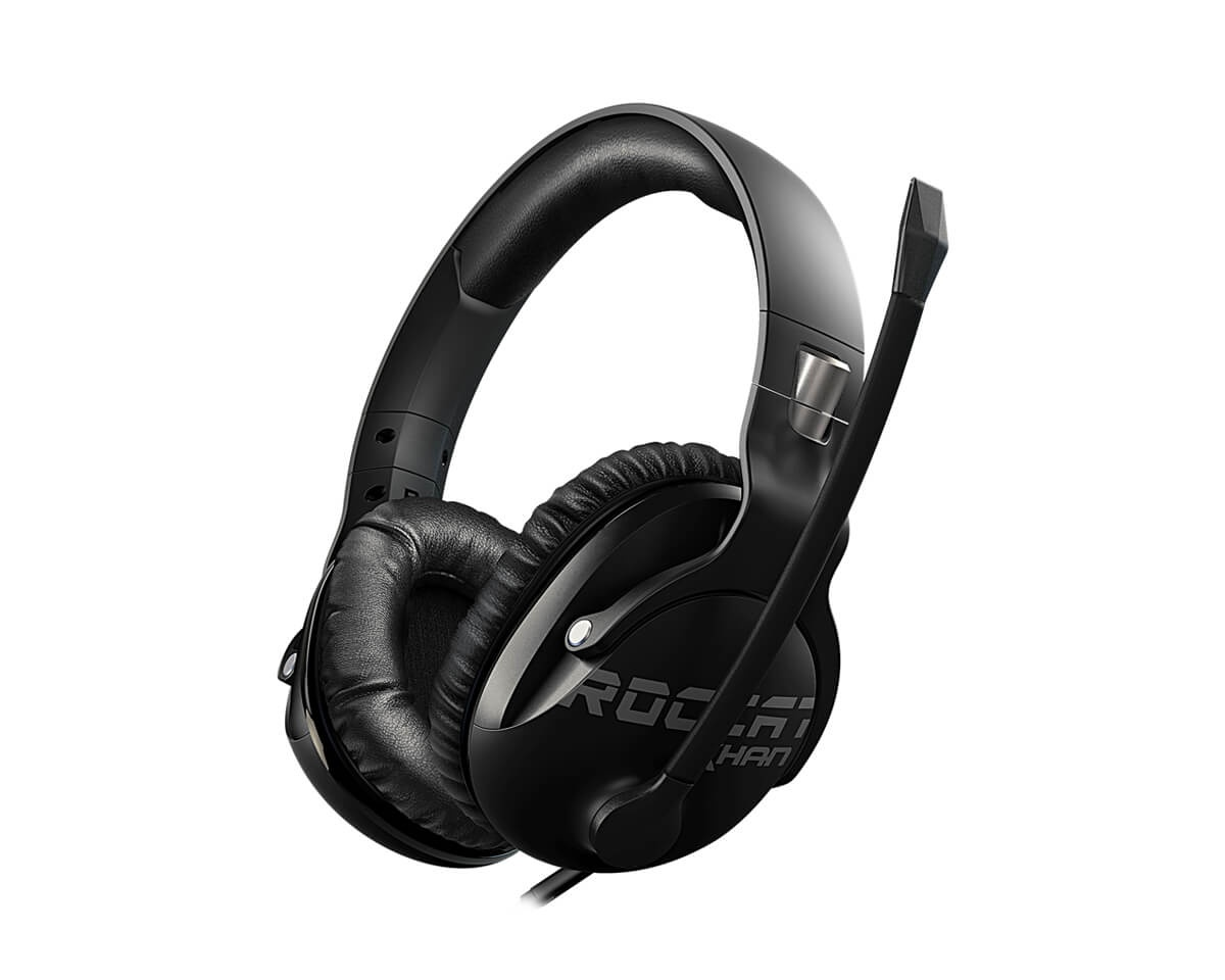 Khan Pro Gaming Headset Svart (PC/PS4/XONE) i gruppen Datatilbehør / Headset & Lyd / Gaming headset / Kablet hos MaxGaming (11533)