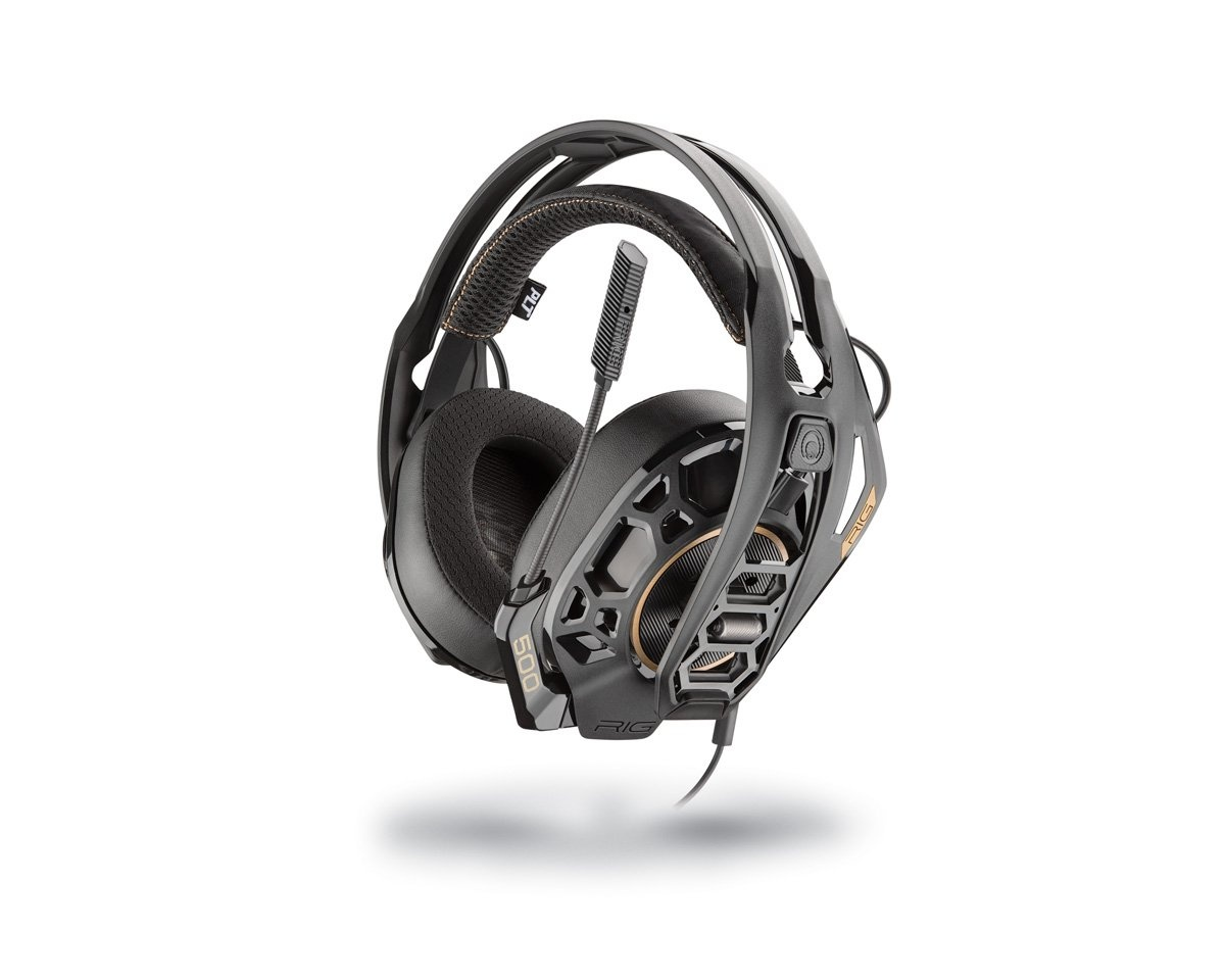 RIG 500PRO HC Dolby Atmos Headset (PS4/Xbox One) i gruppen Datatilbehør / Headset & Lyd / Gaming headset / Kablet hos MaxGaming (12525)