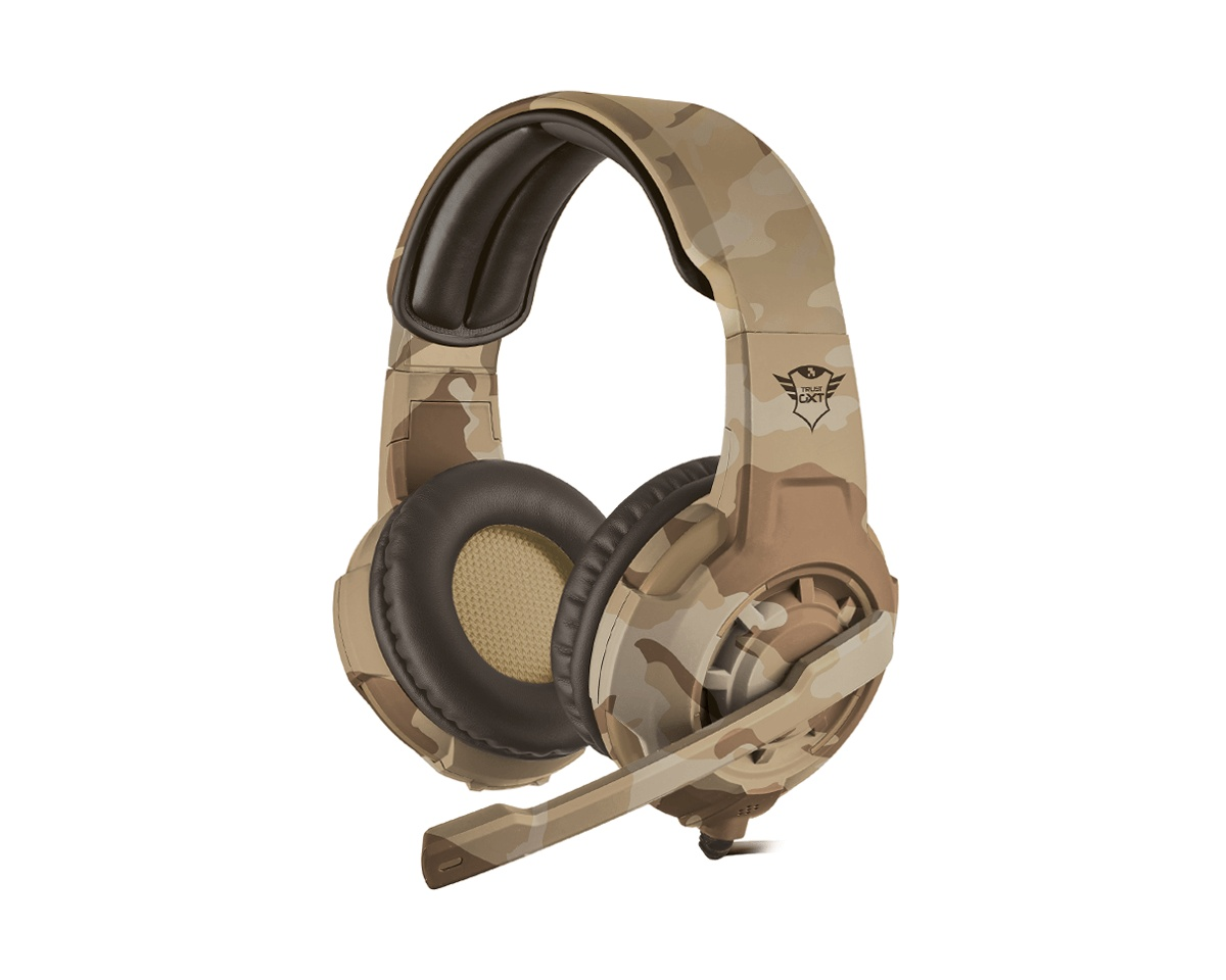 GXT 310D Radius Gaming Headset Desert Camo i gruppen Konsoll / Xbox / Xbox One Tilbehør / Headsets hos MaxGaming (12939)