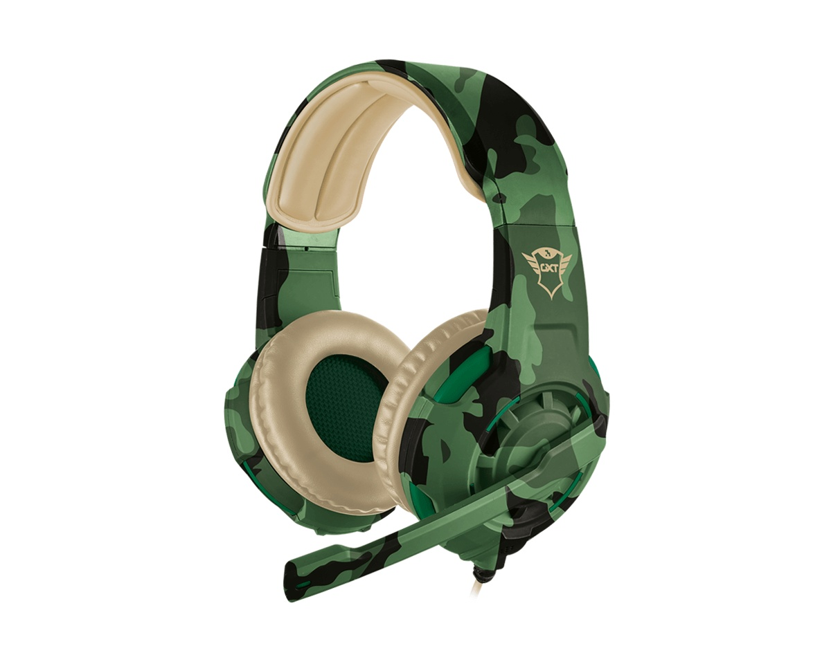 GXT 310C Radius Gaming Headset Jungle Camo i gruppen Konsoll / Xbox / Xbox One Tilbehør / Headsets hos MaxGaming (12940)