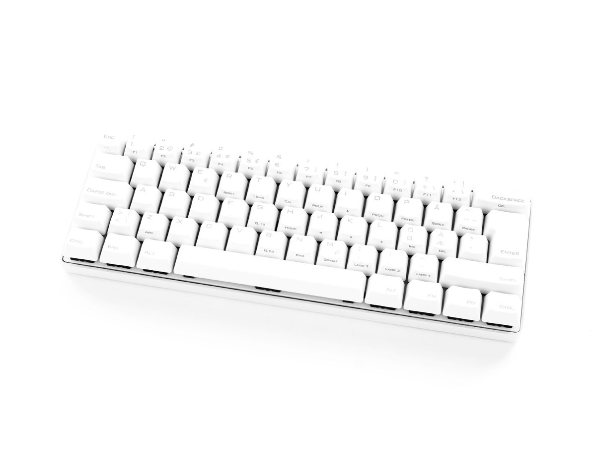 Kjøpe Vortex POK3R PBT Mekanisk Tastatur Grå [MX Clear] på