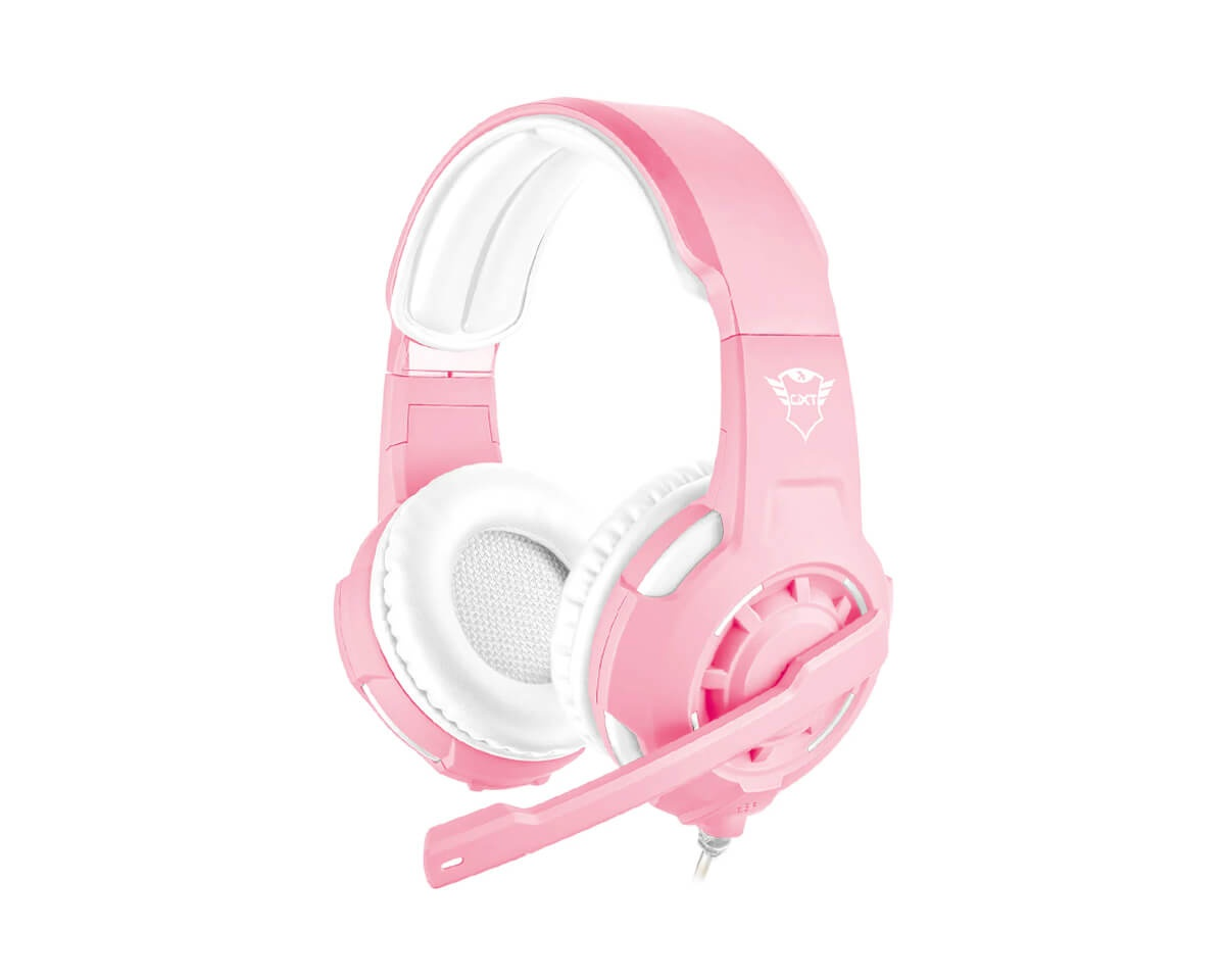 GXT 310P Radius Gaming Headset Rosa i gruppen Konsoll / Xbox / Xbox One Tilbehør / Headsets hos MaxGaming (14567)