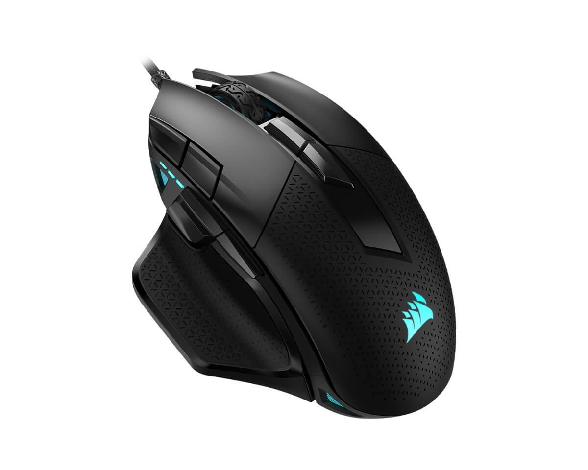 Corsair Nightsword RGB Gaming Mouse 18000dpi Mus Kablet