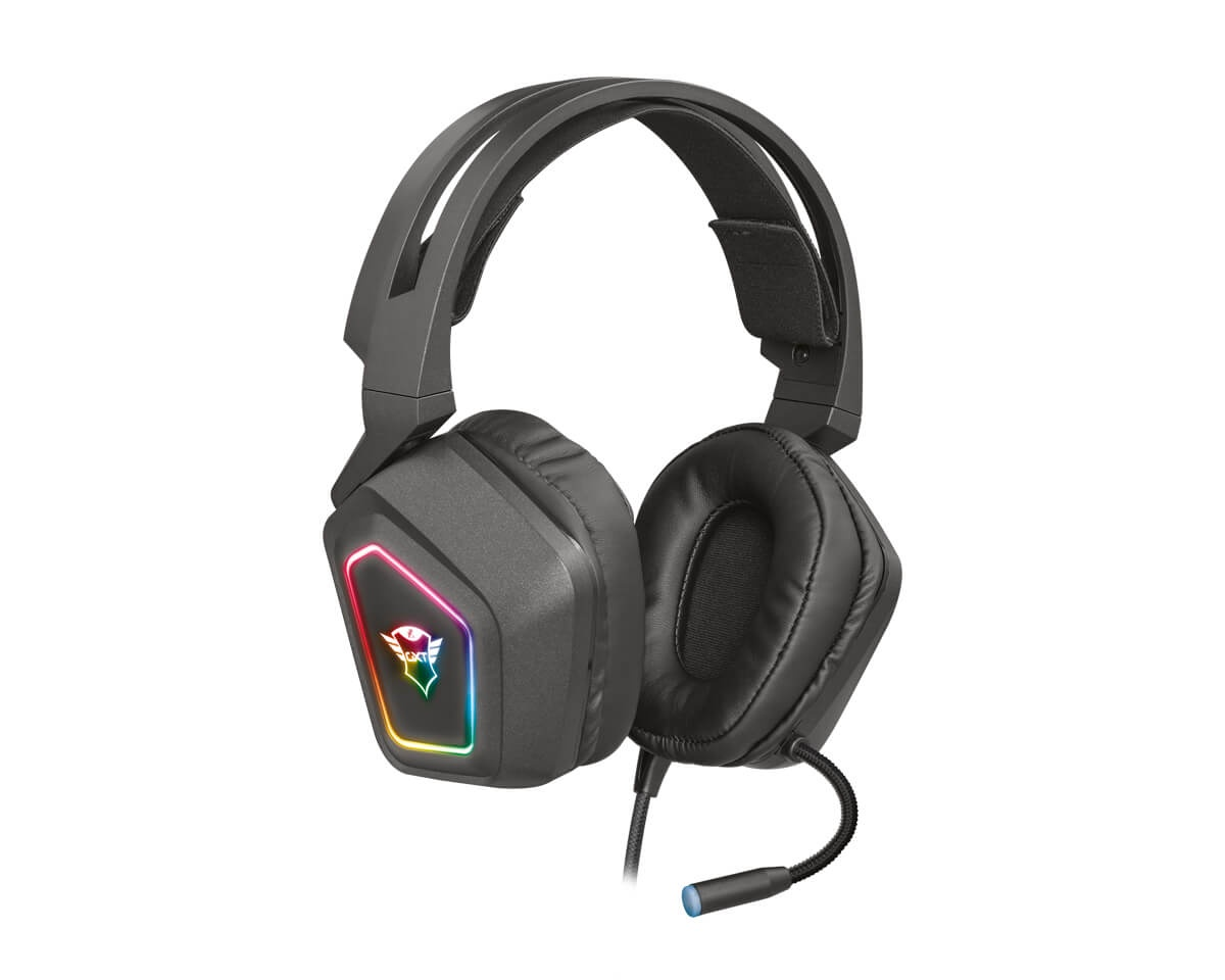 GXT 450 Blizz RGB 7.1 Surround Gaming Headset i gruppen Datatilbehør / Headset & Lyd / Gaming headset / Kablet hos MaxGaming (14869)