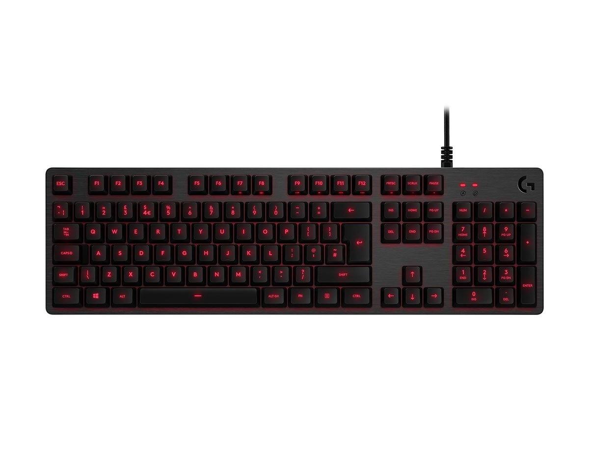 Kjøpe Logitech G413 Silver Gaming Tastatur [Romer G Tactile