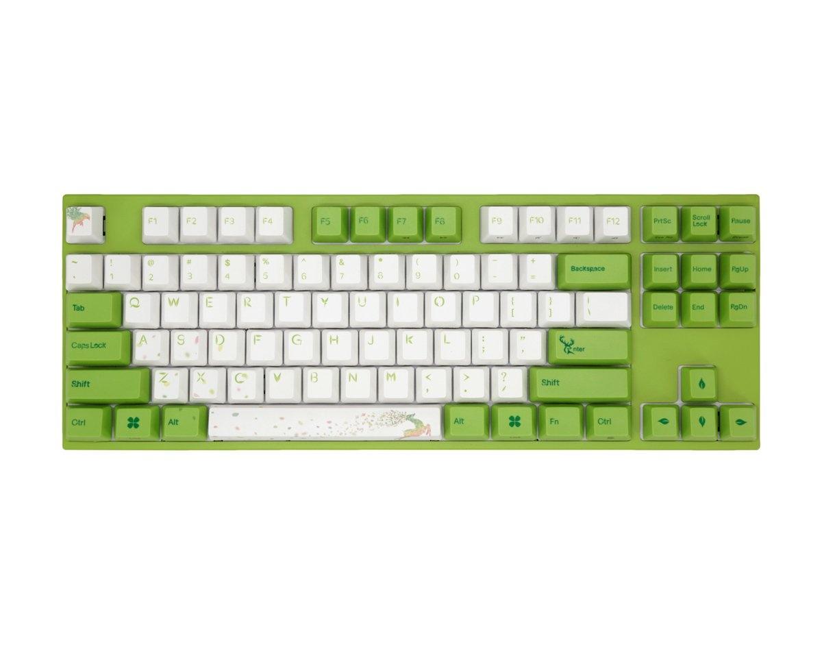 Kjøpe Varmilo VA88M Yakumo PBT Hvit LED Tastatur [MX Silent