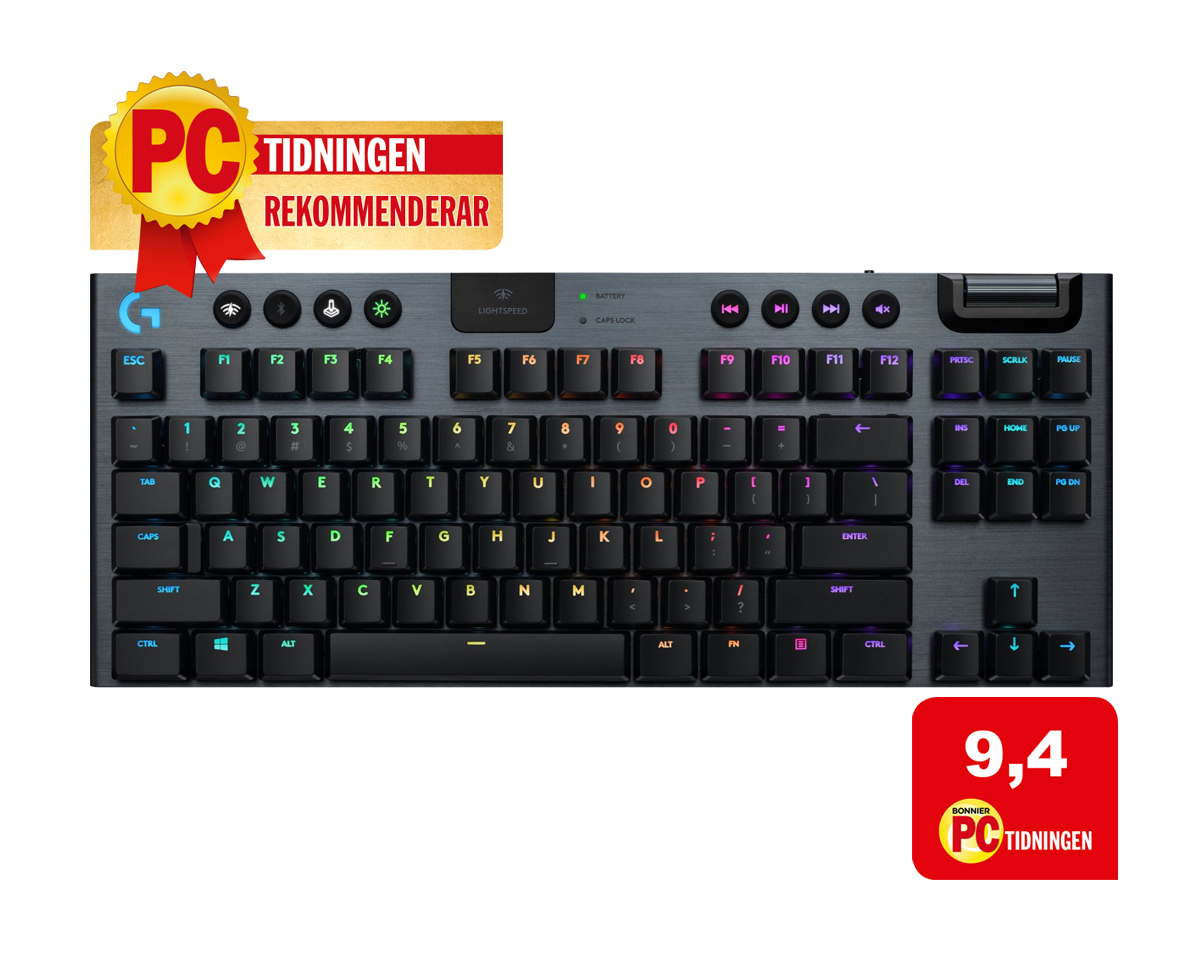 G915 TKL: Trådløst gaming tastatur fra Logitech – G915 TKL