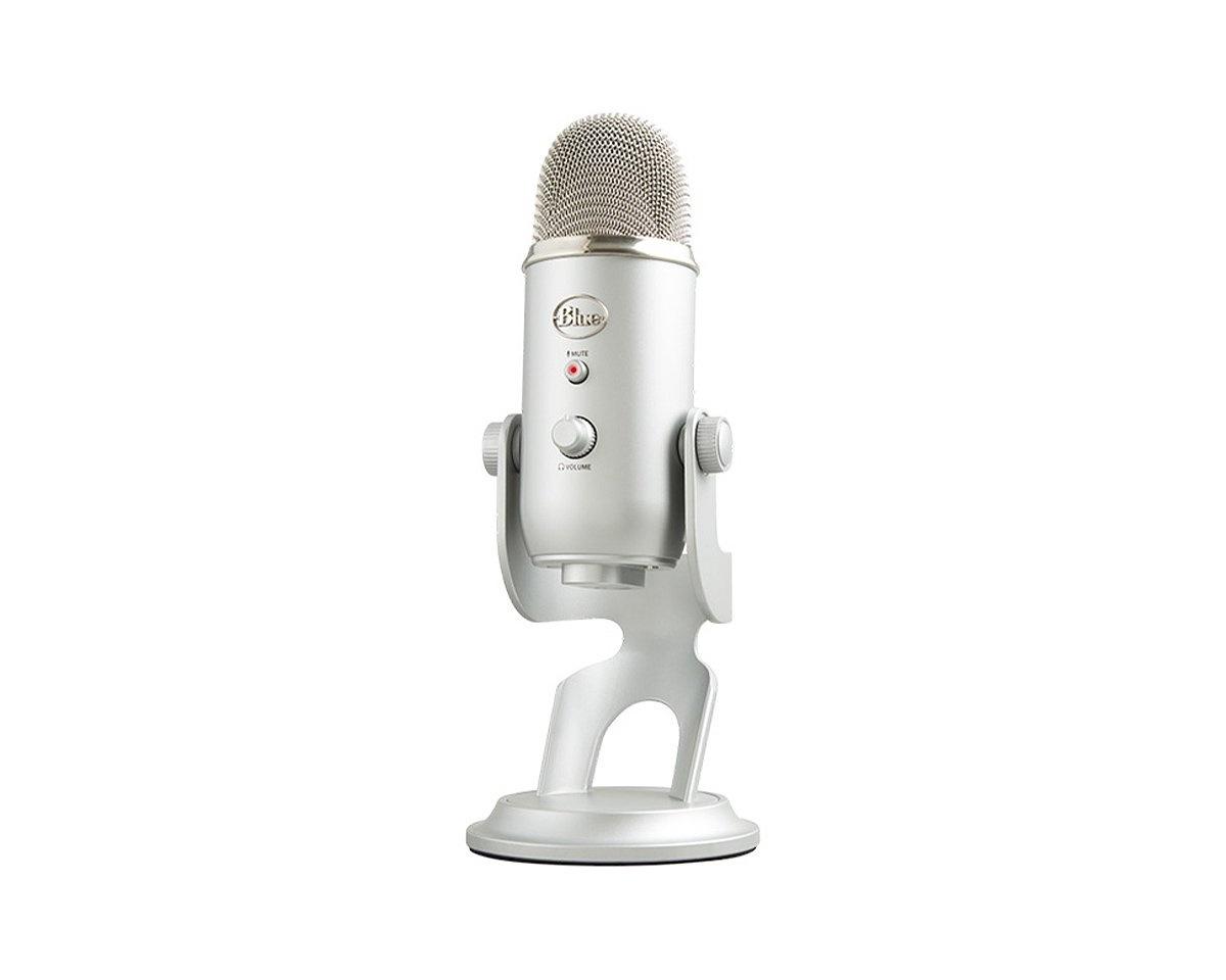 Blue Microphones Yeti USB mikrofon (hvit) Streaming og