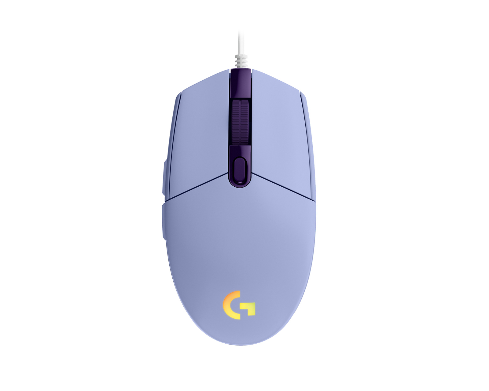 Kjøpe Logitech G203 Lightsync Gaming Mus Hvit på MaxGaming.no