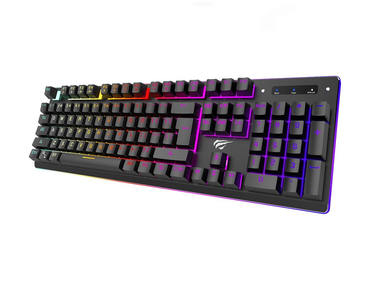 Kjøpe Havit Gaming KB370L RGB Mekanisk Tastatur på MaxGaming.no
