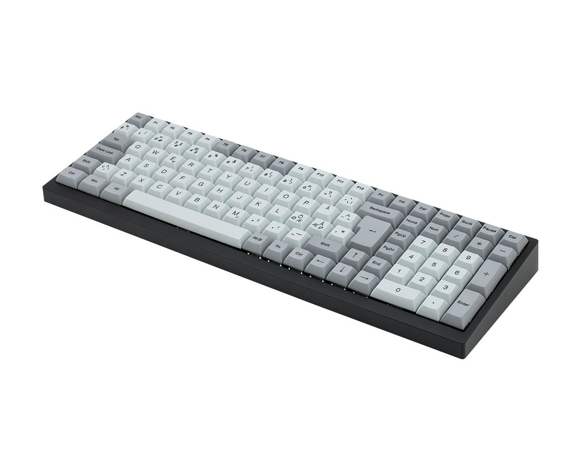 Kjøpe Vortex Tab 90 Double Shot PBT Tastatur [MX Silent Red