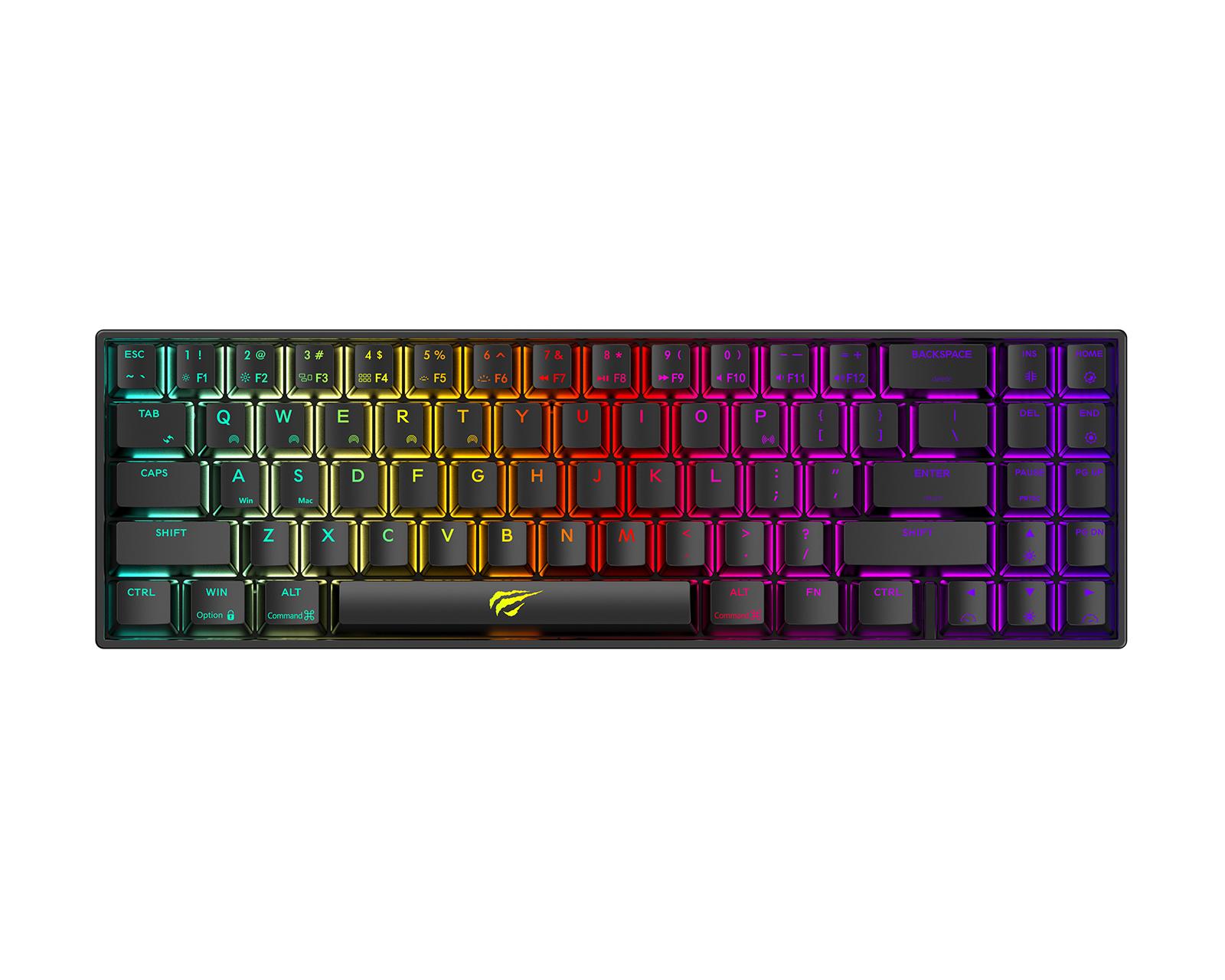 Kjøpe Havit KB496L Ultra Compact Gaming Tastatur [Outemu