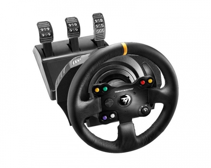 TX Racing Wheel - Leather Edition (XBOX ONE/PC) i gruppen Konsoll / Xbox / Xbox One Tilbehør / Ratt hos MaxGaming (10275)