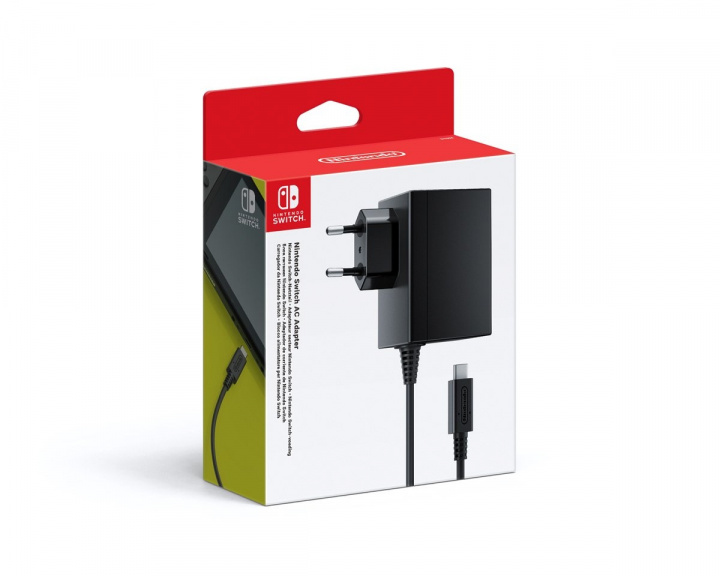 Switch AC Adapter i gruppen Konsoll / Nintendo / Switch Tilbehør / Kabler hos MaxGaming (10636)
