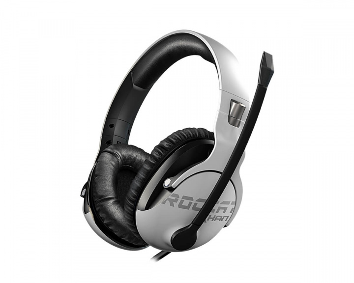 Khan Pro Gaming Headset Hvit (PC/PS4/XONE) i gruppen Datatilbehør / Headset & Lyd / Gaming headset / Kablet hos MaxGaming (11532)