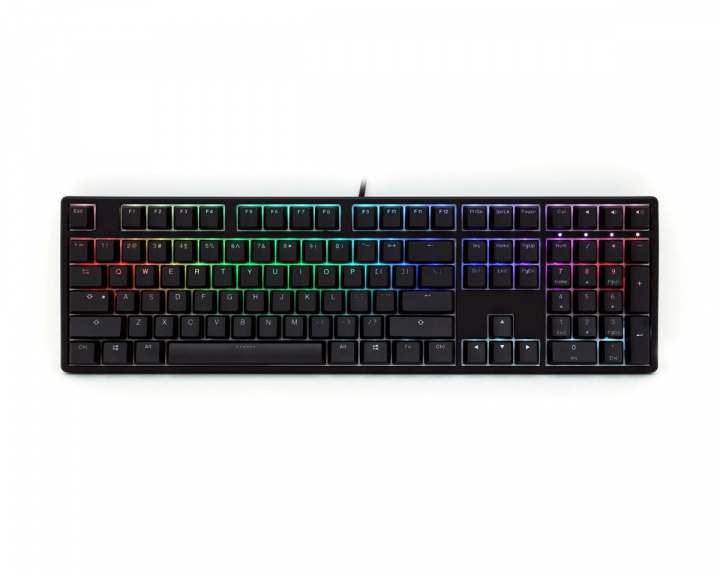 ONE RGB Double-shot PBT Tastatur [MX Red] i gruppen Datatilbehør / Tastatur / Gaming tastatur hos MaxGaming (11895)
