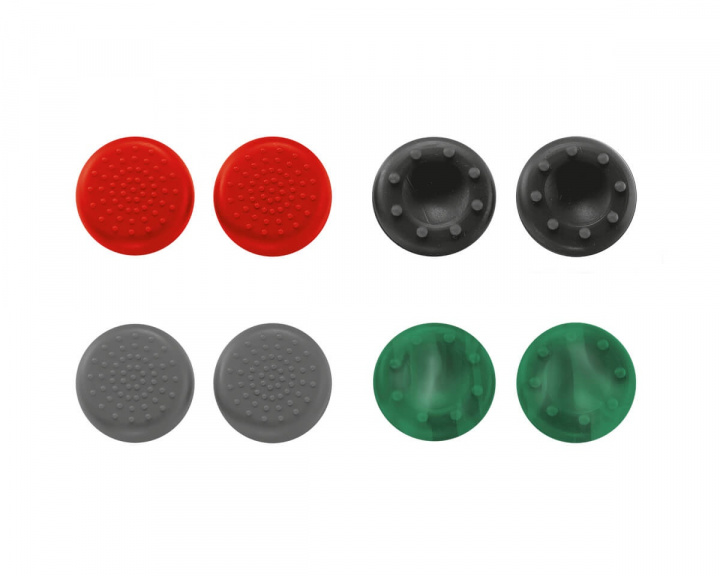 GXT 262 Thumb Grips 8-pack PS4 i gruppen Konsoll / Playstation / PS4 Tilbehør / Spillkontroll hos MaxGaming (12285)
