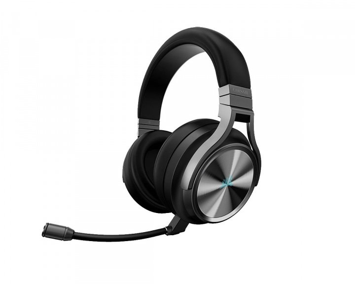 VIRTUOSO RGB Wireless Carbon i gruppen Datatilbehør / Headset & Lyd / Gaming headset / Trådløse hos MaxGaming (15196)