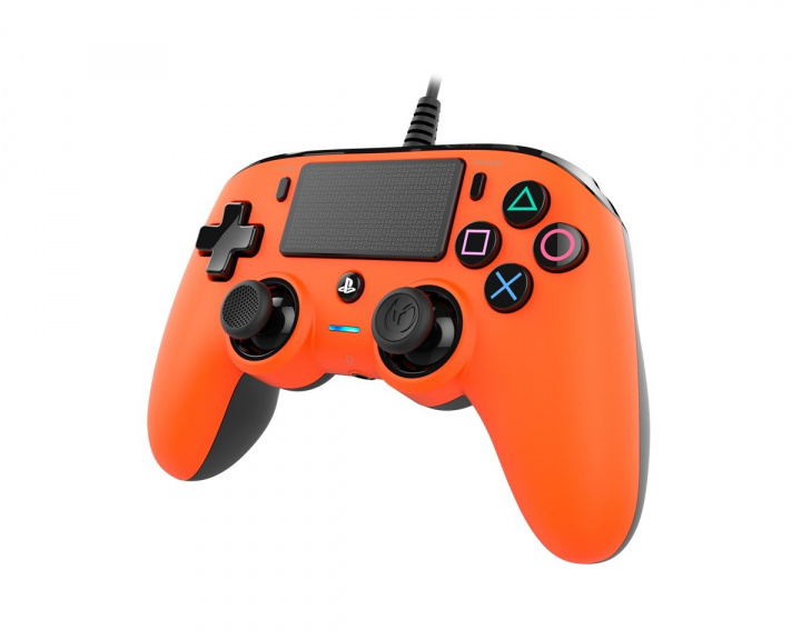 Wired Compact Kontroll Oransje (PS4/PC) i gruppen Konsoll / Playstation / PS4 Tilbehør / Spillkontroll hos MaxGaming (15273)