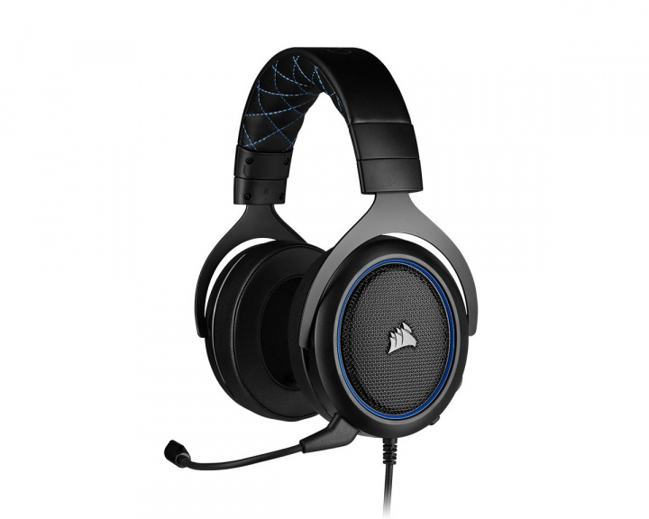 Gaming HS50 PRO Gaming Headset Blå i gruppen Konsoll / Xbox / Xbox One Tilbehør / Headsets hos MaxGaming (15278)