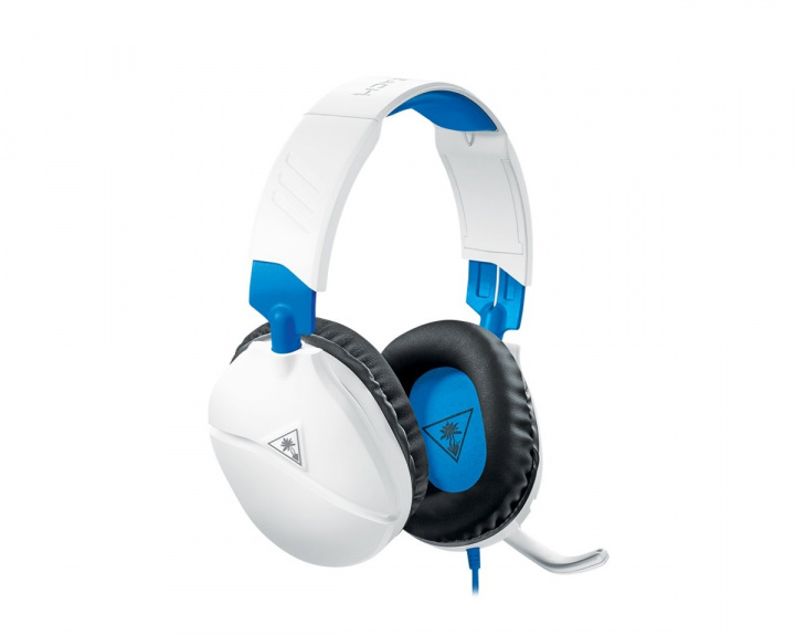 Recon 70P Gaming Headset Hvit(PS4/XBOX ONE/PC/SWITCH) i gruppen Konsoll / Playstation / PS4 Tilbehør / Headsets hos MaxGaming (15311)
