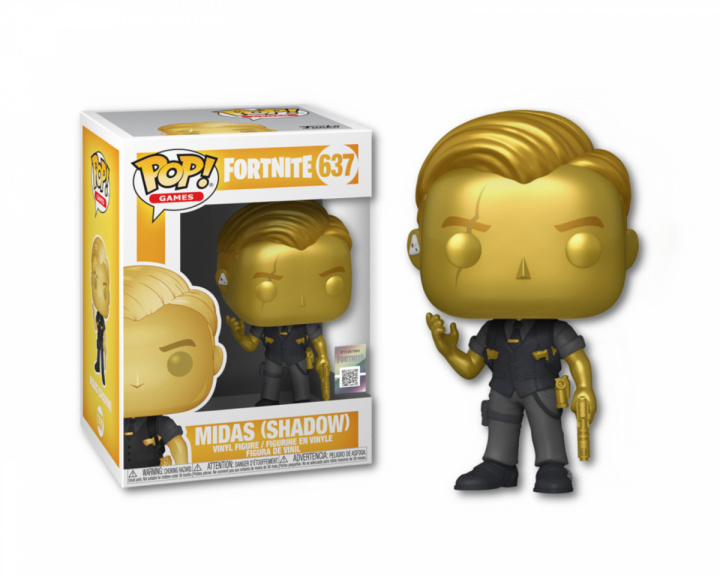 POP Games: Fortnite - Midas (Metallic) i gruppen Hjem & Fritid / Samlefigurer / Funko Pop Figurer hos MaxGaming (17953)